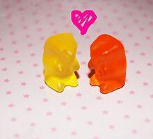 Gummy Love by stegosawus