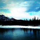Mount Ice Lake  by JerryCordeiro