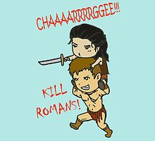 Nagron charge! by GreyMushroom