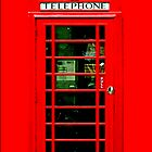 British Red Phone Booth - iphone 5, iphone 4 4s, iPhone 3Gs, iPod Touch 4g case by Pointsale store.com