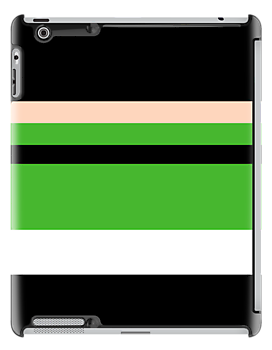 Minimalist Powerpuff Girls Buttercup [iPhone / iPad / iPod Case & Print] by Damienne Bingham