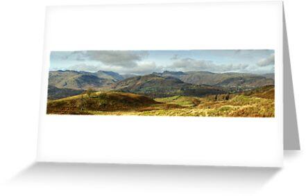 Langdale Skyline by Jamie  Green