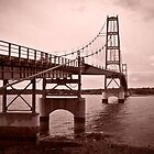 Deer Isle Bridge by Marty Straub