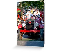 Old Timers Greeting Card
