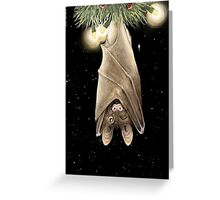 African Christmas: Bat Greeting Card