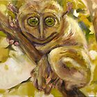 Tarsier in Philippines by Patrick  McMullen