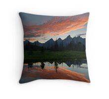 Schwabacher Landing - Grand Teton National Park, Wyoming Throw Pillow