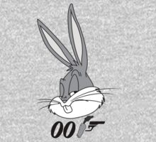 Bugs Bunny James Bond by McDraw