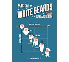 Magical White Beards Photographic Print