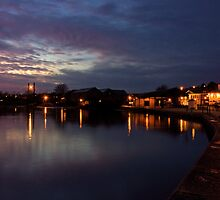 Exeter Quay at Dusk  by Rob Hawkins
