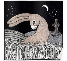Celtic Hare Poster