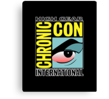 High Gear International Chronic Con - HGICC - Black iCases Canvas Print