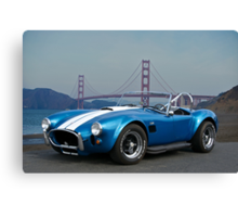 Cobra at the Golden Gate Canvas Print