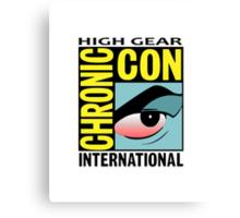 High Gear International Chronic Con - HGICC - White iCASES Canvas Print