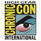 High Gear International Chronic Con - HGICC - White iCASES by Scalawag
