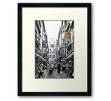 London Court Framed Print