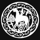 the norse god Odin by potty