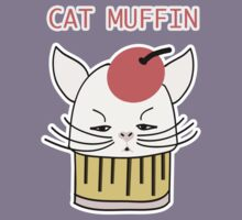 Cat Muffin by TatiDuarte