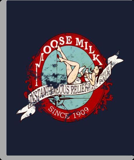 Moose Milk (Full Colour) by redpumpkinart