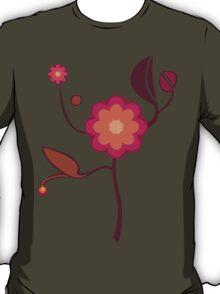 Vintage - flowers - design T-Shirt