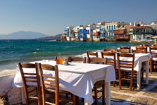 Mykonos - Greece by Joana Kruse