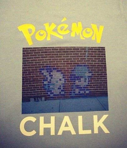 Pokemon Chalk by ilong