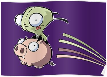 gir on a pig by timmehtees