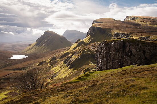 Quiraing sunlight by Christopher Cullen