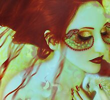 The Bleeding Dream - Self Portrait by Jaeda DeWalt