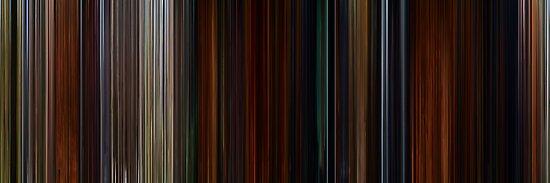 Moviebarcode: Brave (2012) by moviebarcode