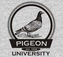 Pigeon University by Rocket Designs