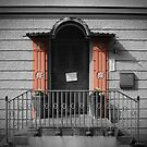 door with pink pillars by NafetsNuarb