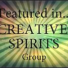 Revamped CREATIVE SPIRITS Group Feature Banner  by Vanessa Barklay