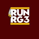 VICT Washington &quot;Run RG3&quot; iPhone iPod Case by Victorious