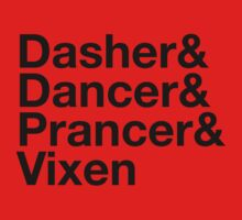 Dasher&Dancer&Prancer&Vixen (Light) by Daniel Rubinstein
