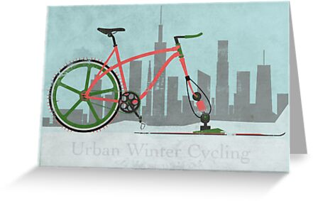 Urban Winter Cycling by Andy Scullion