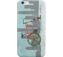 Urban Winter Cycling iPhone Case/Skin