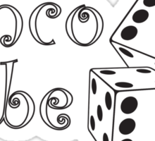Bunco Babe Sticker