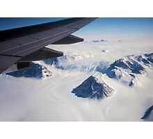 The Antarctic Continent from the Air Photographic Print