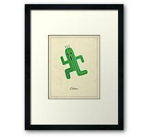 Cactuar Framed Print