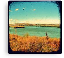 Dangars Lagoon Through The Viewfinder (TTV) Canvas Print