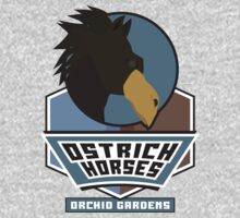 Orchid Gardens Ostrich Horses Kids Clothes