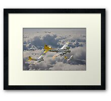 B17 - 487th Bomb Group Framed Print