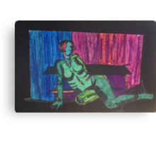 The Reclining Nude by Tristana Fitzgerald Canvas Print