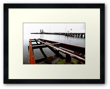 Kingscote Dock by Stephen Mitchell