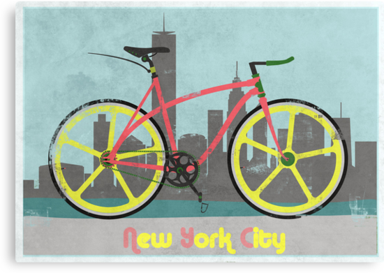 Love New York, Love to Cycle by Andy Scullion
