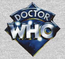 Vintage Dr Who Logo by drwhobubble