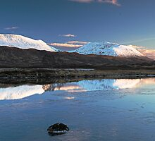 Scotland - Sunset on Rannoch by warbirds