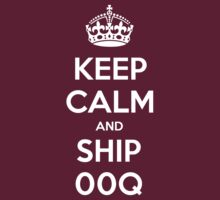 KEEP CALM and Ship 00Q by Golubaja