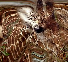 Giraffe Dreams No. 1 by Wayne King